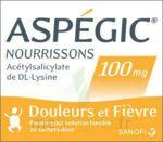 ASPEGIC NOURRISSONS 100 mg, poudre pour solution buvable en sachet-dose à Agen