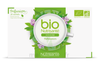 Nutrisanté Infusions Bio Tisane Verveine 20 Sachets à Agen