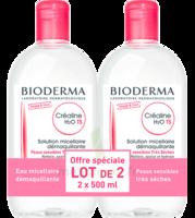 Crealine Ts H2o Solution Micellaire Sans Parfum Nettoyante Apaisante 2fl/500ml à Agen