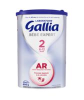 Gallia Bebe Expert Ar 2 Lait En Poudre B/800g à Agen