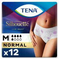 Tena Lady Silhouette Slip Absorbant Blanc Normal Médium Paquet/12 à Agen