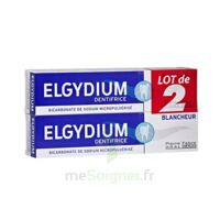Elgydium Dentifrice Duo Blancheur Tube 2x75ml à Agen