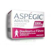 ASPEGIC ADULTES 1000 mg, poudre pour solution buvable en sachet-dose 20 à Agen