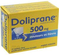 DOLIPRANE 500 mg Poudre pour solution buvable en sachet-dose B/12 à Agen