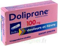 Doliprane 100 Mg Suppositoires Sécables 2plq/5 (10) à Agen