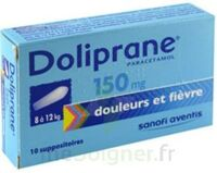 DOLIPRANE 150 mg Suppositoires 2Plq/5 (10) à Agen