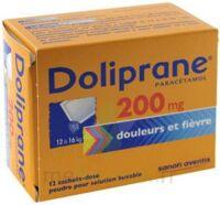 Doliprane 200 Mg Poudre Pour Solution Buvable En Sachet-dose B/12 à Agen