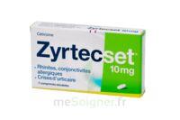 ZYRTECSET 10 mg, comprimé pelliculé sécable à Agen
