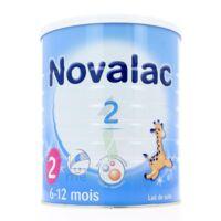 NOVALAC LAIT 2, 6-12 mois BOITE 800G à Agen