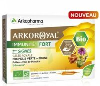 Arkoroyal Immunité Fort Solution Buvable 20 Ampoules/10ml à Agen
