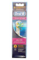 Brossette De Rechange Oral-b Floss Action X 3 à Agen