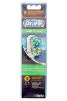 Brossette De Rechange Oral-b Dual Clean X 3 à Agen