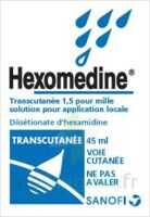 HEXOMEDINE TRANSCUTANEE 1,5 POUR MILLE, solution pour application locale à Agen