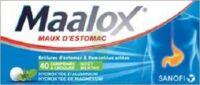 MAALOX HYDROXYDE D'ALUMINIUM/HYDROXYDE DE MAGNESIUM 400 mg/400 mg Cpr à croquer maux d'estomac Plq/40 à Agen