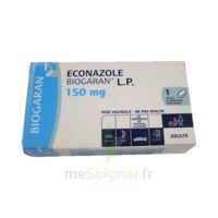 Econazole Biogaran L.p. 150 Mg, Ovule à Libération Prolongée à Agen