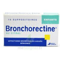 BRONCHORECTINE AU CITRAL ENFANTS, suppositoire à Agen
