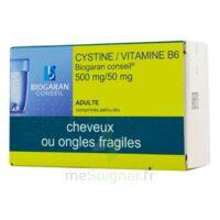 CYSTINE/VITAMINE B6 BIOGARAN CONSEIL 500 mg/50 mg Cpr pell Plq/120 à Agen