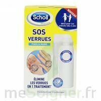 Scholl SOS Verrues traitement pieds et mains à Agen