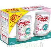 GUIGOZ LAIT EXPERT AR2 LOT DE 2X800GR à Agen