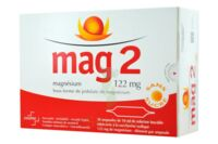 MAG 2 SANS SUCRE 122 mg, solution buvable en ampoule édulcoré à la saccharine sodique à Agen