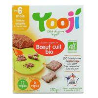 YOOJI 12 galets de boeuf bio VBF haché, cuit et surgelé / A partir de 6 mois à Agen