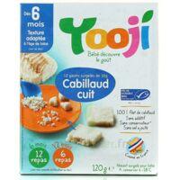 YOOJI 12 galets de Cabillaud MSC haché, cuit et surgelé / A partir de 6 mois à Agen