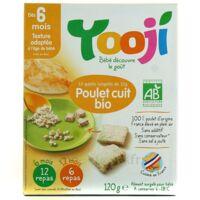 YOOJI 12 galets de poulet bio haché, cuit et surgelé / A partir de 6 mois à Agen