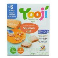 YOOJI 12 galets de Saumon MSC haché, cuit et surgelé / A partir de 6 mois à Agen