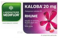KALOBA 20 mg Cpr pell Plq/21 à Agen