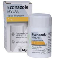ECONAZOLE MYLAN 1 % Pdr appl cut Fl/30g à Agen