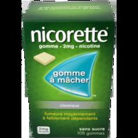 NICORETTE 2 mg Gom à mâcher médic sans sucre menthe fraîche Plq/105gom à Agen