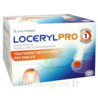 LOCERYL 5 % V ongles médicamenteux Fl/2,5ml+10 spatules à Agen