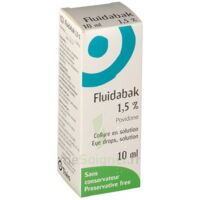 FLUIDABAK 1,5 %, collyre en solution à Agen