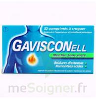 Gavisconell Coprimés à Croquer Sans Sucre Menthe édulcoré à L'aspartam Et à L'acésulfame Potas Plq/24 à Agen