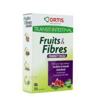 ORTIS FRUITS & FIBRES Comprimés transit facile B/30 à Agen