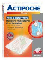 Actipoche Patch chauffant douleurs musculaires B/2 à Agen