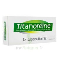 Titanoreine Suppositoires B/12 à Agen