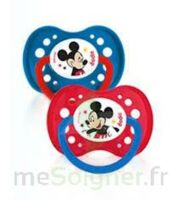 Dodie Disney sucettes silicone +18 mois Mickey Duo à Agen