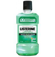 Listerine Protection Dents Gencives Bain Bouche Goût Plus Léger Fl/500ml à Agen