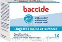 Baccide Lingette désinfectante mains & surface 12 Pochettes à Agen