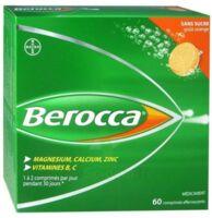 Berocca Comprimés effervescents sans sucre T/60 à Agen