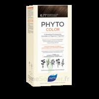 Phytocolor Kit Coloration Permanente 6.77 Marron Clair Cappuccino à Agen