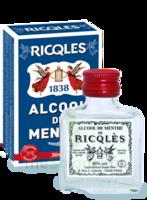 Ricqles 80° Alcool de menthe 30ml à Agen
