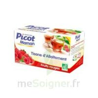 Picot Maman Tisane d'allaitement Fruits rouges 20 Sachets à Agen
