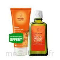 Weleda huile de massage arnica 200ml  + Gel douche OFFERT à Agen