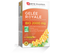 Forte Pharma Gelée Royale Bio 2000 Mg Solution Buvable 20 Ampoules/15ml à Agen