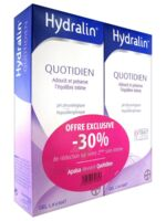 Hydralin Quotidien Gel lavant usage intime 2*200ml à Agen