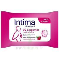 Intima Gyn'expert Lingettes Cranberry Paquet/30 à Agen