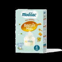 Modilac Céréales Farine Biscuit miel à partir de 6 mois B/300g à Agen