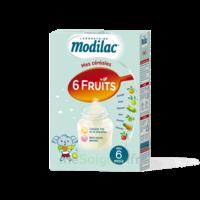 Modilac Céréales Farine 6 Fruits à partir de 8 mois B/300g à Agen